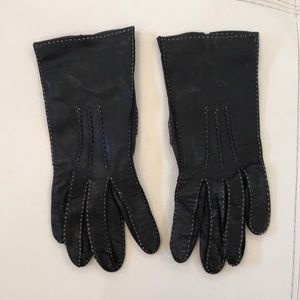 COACH genuine leather gloves